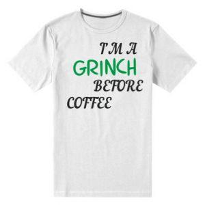 Męska premium koszulka GRINCH
