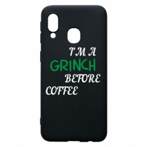 Phone case for Samsung A40 GRINCH