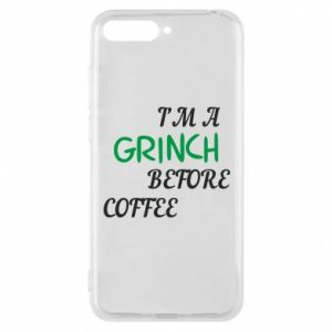 Phone case for Huawei Y6 2018 GRINCH