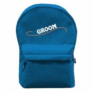 Plecak z przednią kieszenią Groom