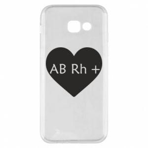 Etui na Samsung A5 2017 Grupa krwi AB+
