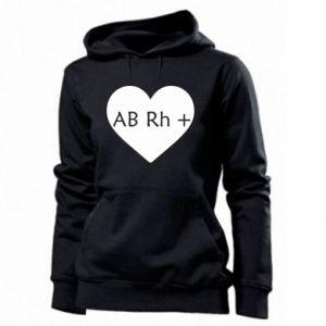 Damska bluza Grupa krwi AB+