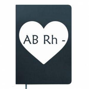 Notes Grupa krwi AB-