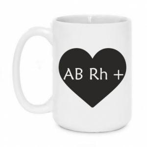 Kubek 450ml Grupa krwi AB+