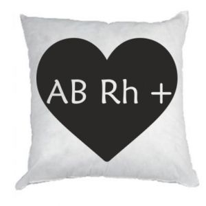 Poduszka Grupa krwi AB+