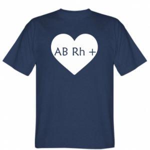 Koszulka Grupa krwi AB+