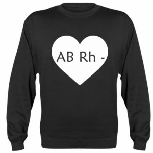 Bluza (raglan) Grupa krwi AB-