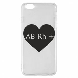 Etui na iPhone 6 Plus/6S Plus Grupa krwi AB+