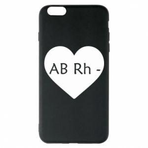 Etui na iPhone 6 Plus/6S Plus Grupa krwi AB-