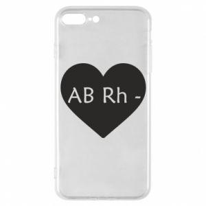 Etui na iPhone 7 Plus Grupa krwi AB-