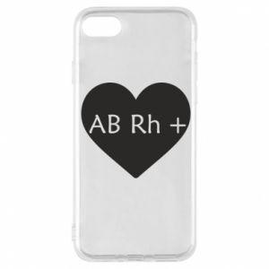 Etui na iPhone 8 Grupa krwi AB+