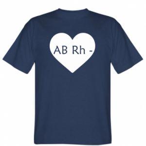 Koszulka Grupa krwi AB-