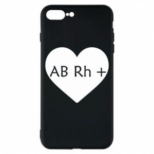 Etui na iPhone 8 Plus Grupa krwi AB+