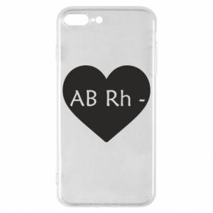 Etui na iPhone 8 Plus Grupa krwi AB-