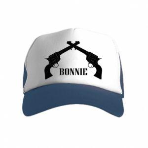 Czapka trucker dziecięca Gun Bonnie