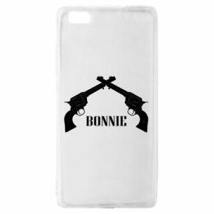 Etui na Huawei P 8 Lite Gun Bonnie