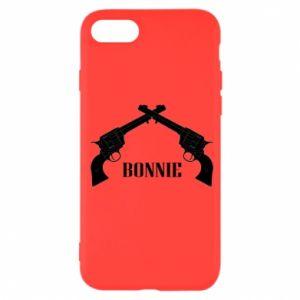 Etui na iPhone SE 2020 Gun Bonnie
