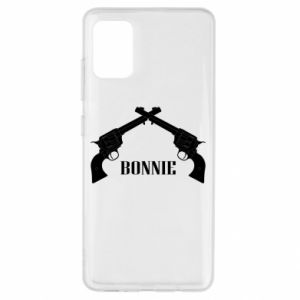 Etui na Samsung A51 Gun Bonnie