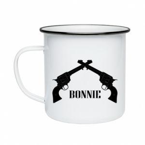 Kubek emaliowany Gun Bonnie