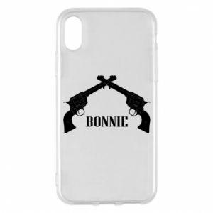 Etui na iPhone X/Xs Gun Bonnie