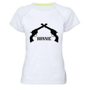 Damska koszulka sportowa Gun Bonnie
