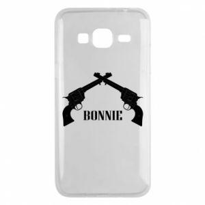 Etui na Samsung J3 2016 Gun Bonnie