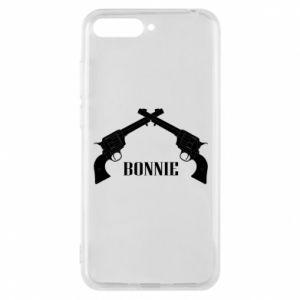 Etui na Huawei Y6 2018 Gun Bonnie