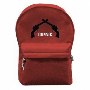 Plecak z przednią kieszenią Gun Bonnie