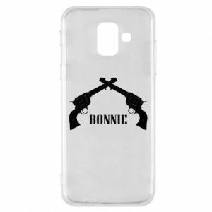 Etui na Samsung A6 2018 Gun Bonnie