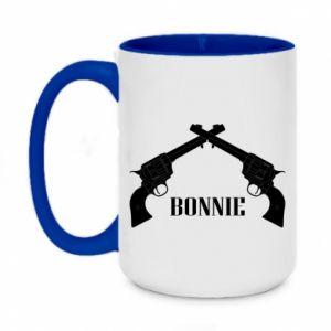 Kubek dwukolorowy 450ml Gun Bonnie