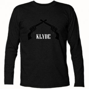 Long Sleeve T-shirt Gun Clyde - PrintSalon