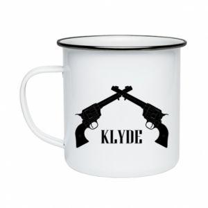 Kubek emaliowany Gun Clyde