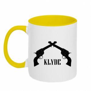 Two-toned mug Gun Clyde - PrintSalon