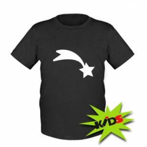 Dziecięcy T-shirt Spadająca gwiazda