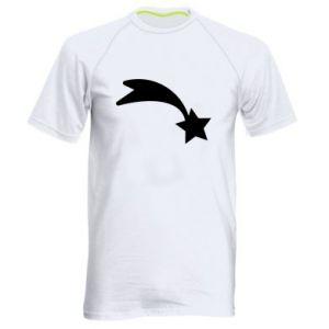 Męska koszulka sportowa Spadająca gwiazda