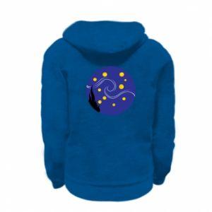 Bluza na zamek dziecięca Gwiaździsta noc Van Gogha