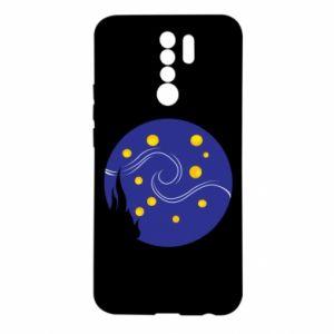 Etui na Xiaomi Redmi 9 Gwiaździsta noc Van Gogha