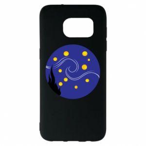Etui na Samsung S7 EDGE Gwiaździsta noc Van Gogha