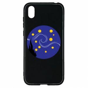 Etui na Huawei Y5 2019 Gwiaździsta noc Van Gogha