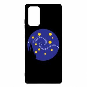 Etui na Samsung Note 20 Gwiaździsta noc Van Gogha
