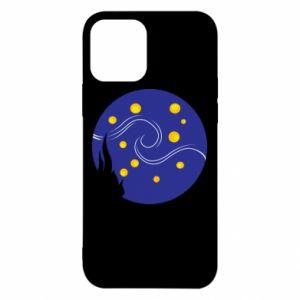 Etui na iPhone 12/12 Pro Gwiaździsta noc Van Gogha