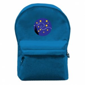Backpack with front pocket Van Gogh's Starry Night