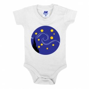 Baby bodysuit Van Gogh's Starry Night