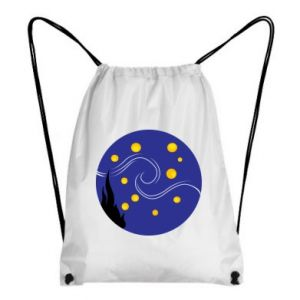 Backpack-bag Van Gogh's Starry Night