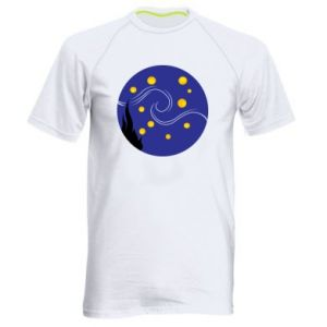 Men's sports t-shirt Van Gogh's Starry Night