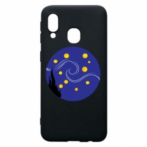 Phone case for Samsung A40 Van Gogh's Starry Night