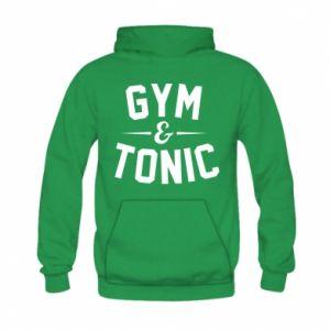 Kid's hoodie Gym and tonic