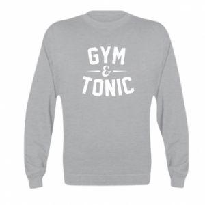 Kid's sweatshirt Gym and tonic