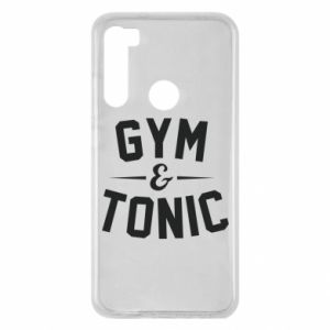 Xiaomi Redmi Note 8 Case Gym and tonic