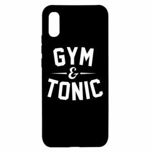 Xiaomi Redmi 9a Case Gym and tonic